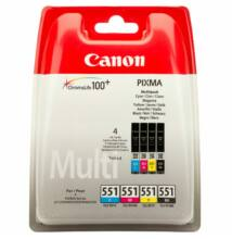 Canon CLI-551 Multipack (C,M,Y, BK) (Eredeti)