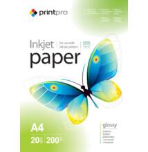 Fotópapír ColorWay PrintPro high glossy 200 g/m², A4, 20 lap