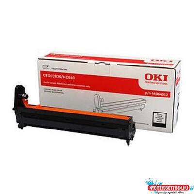 OKI C810,821,MC860 Drum Black (Eredeti)