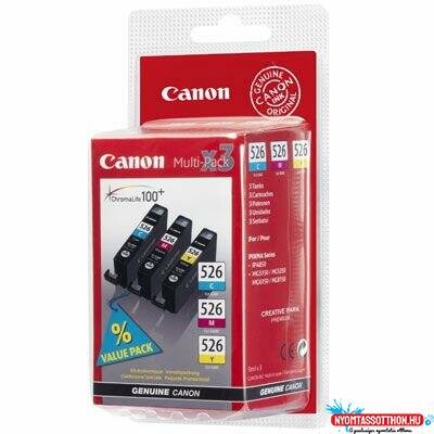 Canon CLI526 C/M/Y Multipack