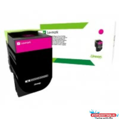 Lexmark CS510 Extra High Corporate Toner Magenta 4K (Eredeti) 70C2XME