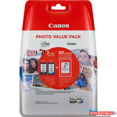 Canon PG545XL+CL546XL+10x15 GP501 Multipack /eredeti/