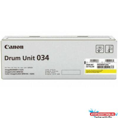 Canon IRC1225 Yellow Drum 034 (Eredeti)