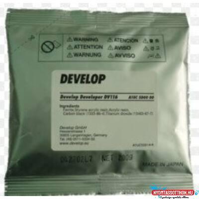 Develop ineo164 developer DV116 /Eredeti/