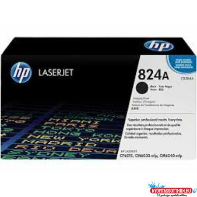 HP CB384A Drum Black 35k No.824A (Eredeti)