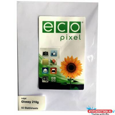 Glossy photo paper 10x15 210gr/50db