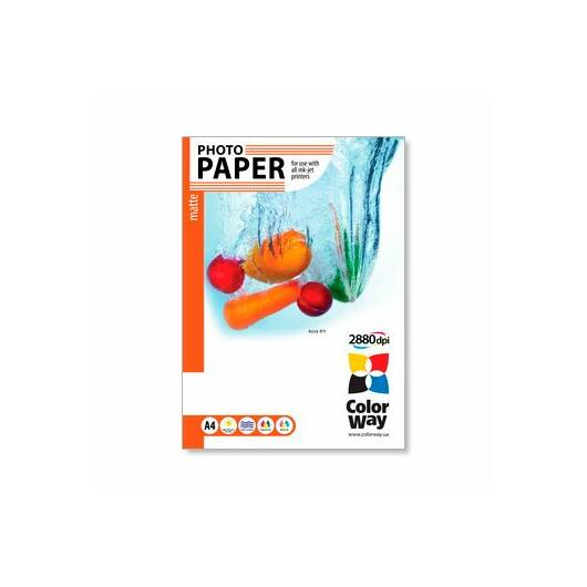 COLORWAY Matt Photo paper A4 190g 20db PM190020A4