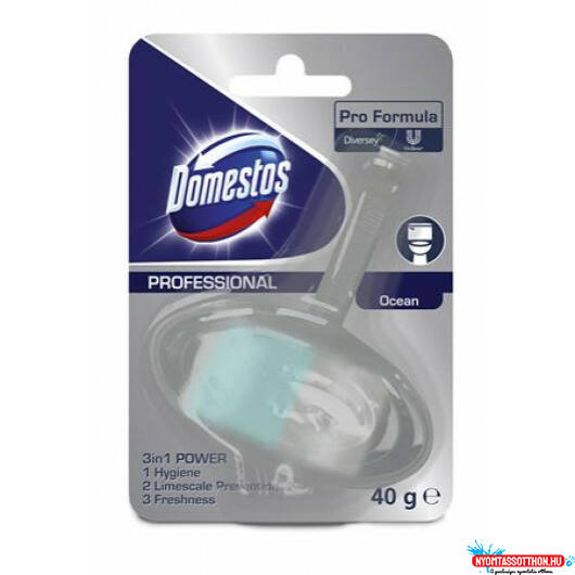 Domestos Pro Formula WC Frissítő Blokk 3in1 Ocean 40g