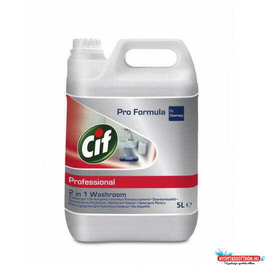 Cif Professional 2in1 Washroom Cleaner 5L
