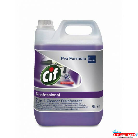 Cif Professional 2in1 Kitchen Cleaner Disinfectant 5L