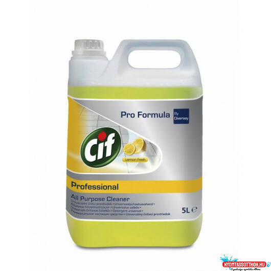 Cif Professional All Purpose Cleaner Lemon Fresh 5L