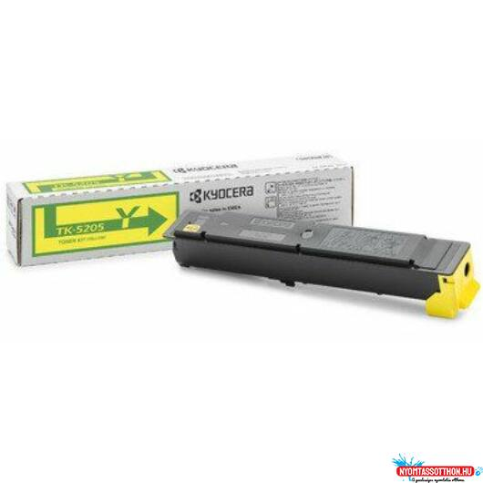 Kyocera TK-5205 Toner Yellow (Eredeti)