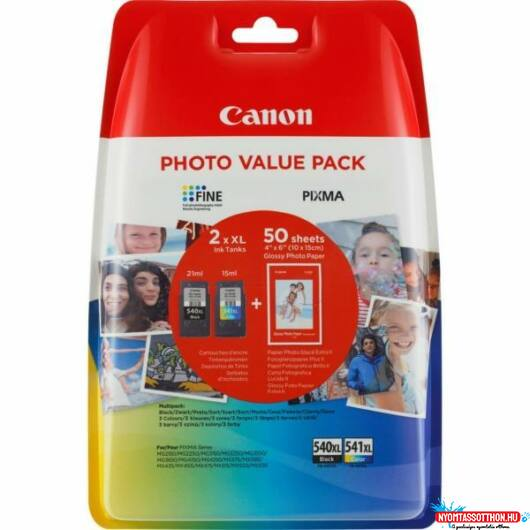 Canon PG540XL+CL541XL+10x15 GP501 (50lapos) Multipack /eredeti/