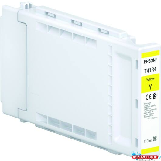 Epson T41R4 Patron Yellow 110ml (Eredeti)