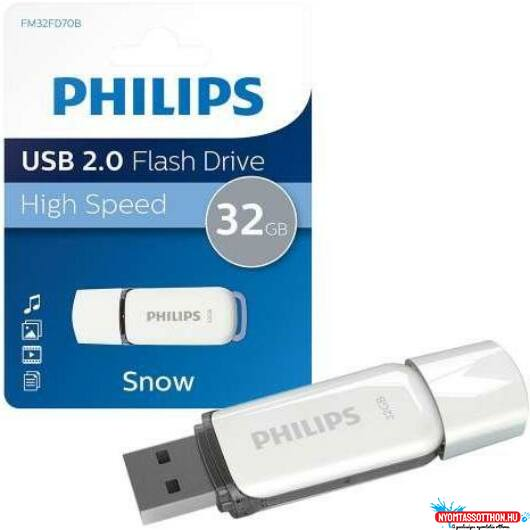 PenDrive 32GB Philips Snow