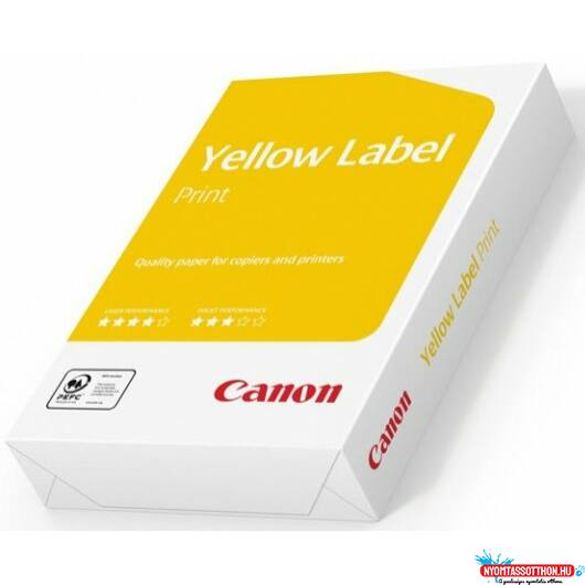 A/4 Canon Yellow Label 80g. másolópapír