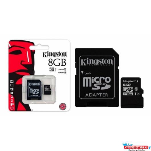 Kingston SD 8GB Micro SDC4 CL4