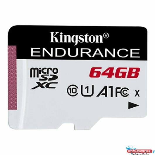 SD 64 GB Kingston Micro SDXC CL10 Adapter nélkül