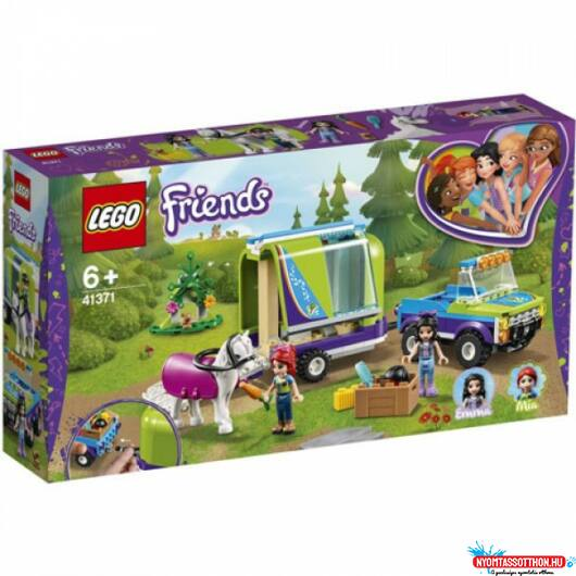 LEGO Mia lószállító utánfutója