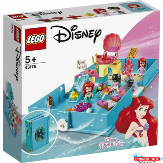 LEGO Disney Ariel mesekönyve 43176